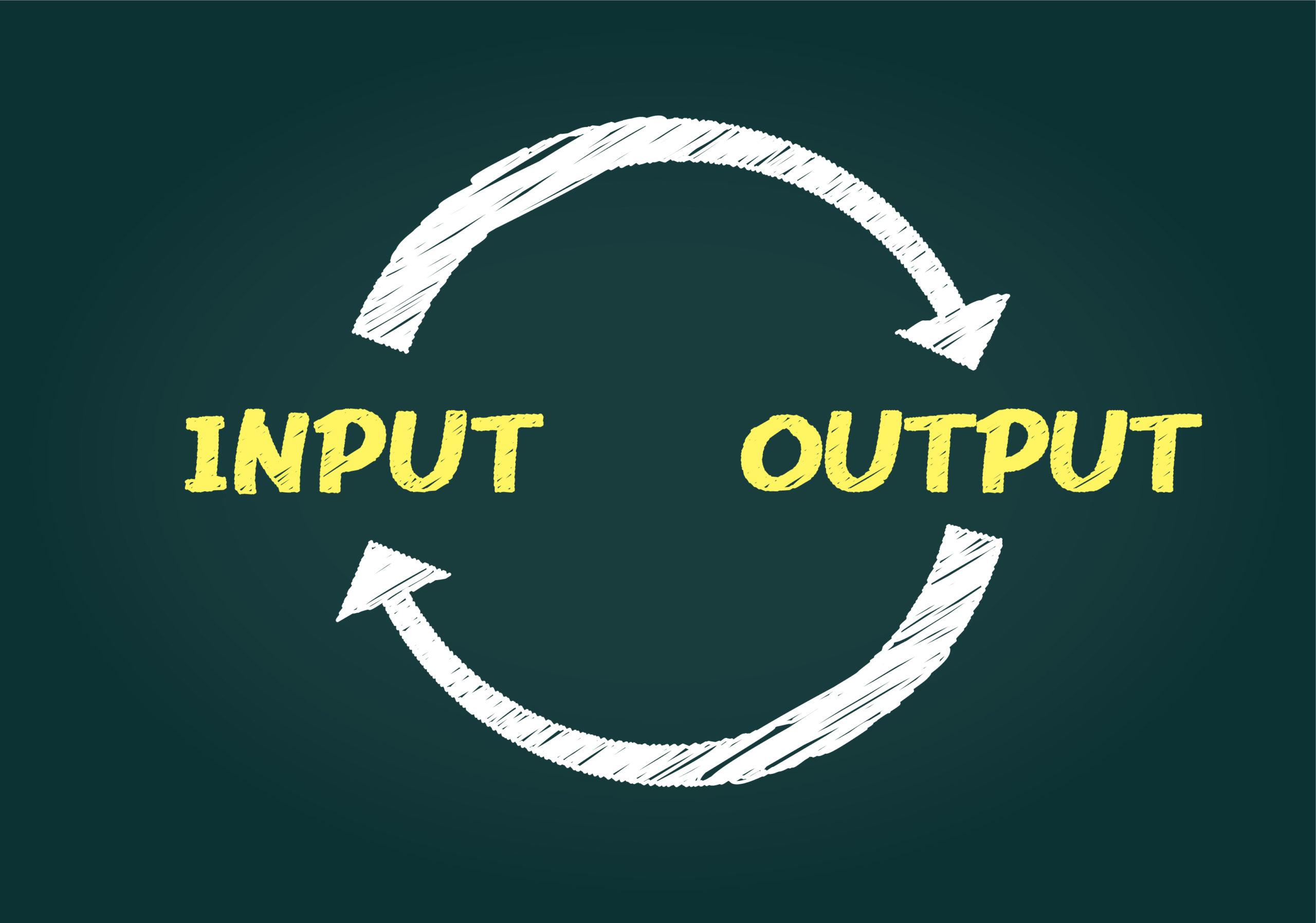 小論文の得点アップに欠かせないのは、インプット量とアフトプット量です。